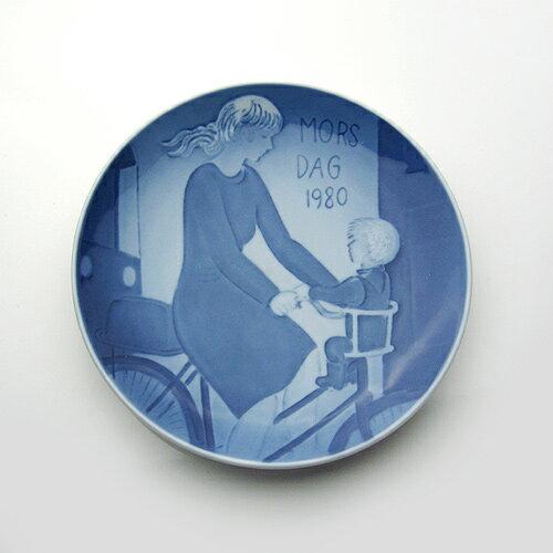 【送料無料祭】ロイヤルコペンハーゲン マザーズ デイ プレート 1980年