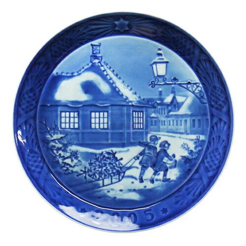 【送料無料祭】ロイヤルコペンハーゲン イヤープレート 2005年 Hans Christian Andersen House 【5000035】