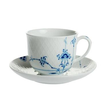 ロイヤルコペンハーゲンブルーパルメッテコーヒーカップ&ソーサー240ml2-500-0704