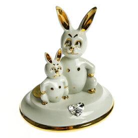 アールジー・ポーセリン (RG Porcellane) ウサギの親子 196