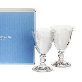 【Autumn*Sale】ウェッジウッド (WEDGWOOD) フェスティビティ クリスタル ワイン ペア