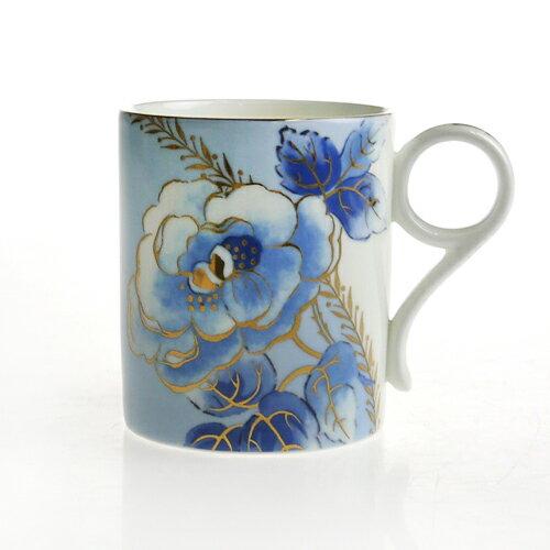ウェッジウッド (WEDGWOOD) アーカイブ マグコレクション ブルー ピオニー マグカップ 0.25L