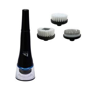 《クーポン配布中》 アルインコ 洗顔ブラシ WB702 ALINCO BIZ.BODY 洗顔ブラシセット ブラシアタッチメント3種付き WB-702 USB充電式 電動洗顔ブラシ メンズ 男性用 フェイスブラシ