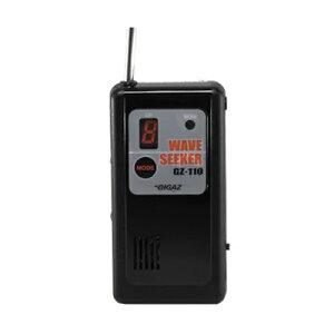 《クーポン配布中》 3特典【送料無料+お米+ポイント】 盗聴電波探索・受信機 ウェーブシーカー GZ-110 盗聴機発見機 ハウリング音で盗聴器の場所を探せます 盗聴器発見器 盗聴電波発見器 GZ