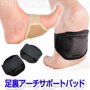 足裏アーチサポートパッド 両足用 足裏衝撃吸収パッド アーチサポーター 足裏アーチサポートパット 偏平足対策