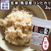 玄米魚沼産コシヒカリ2kg