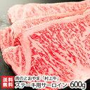 村上牛 ステーキ用サーロイン 600g(200g×3パック)村上牛の正規取扱店「肉のとおやま」【A-4、B-4以上】【牛肉/精肉…