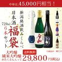 大吟醸または純米大吟醸が6本入る伝説の福袋!すべて大吟醸酒か純米大吟醸酒の4合瓶6本セット!【720ml×6本 飲み比べ…