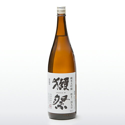 お中元ギフト 獺祭 純米大吟醸三割九分 1800ml 2018年2月日付