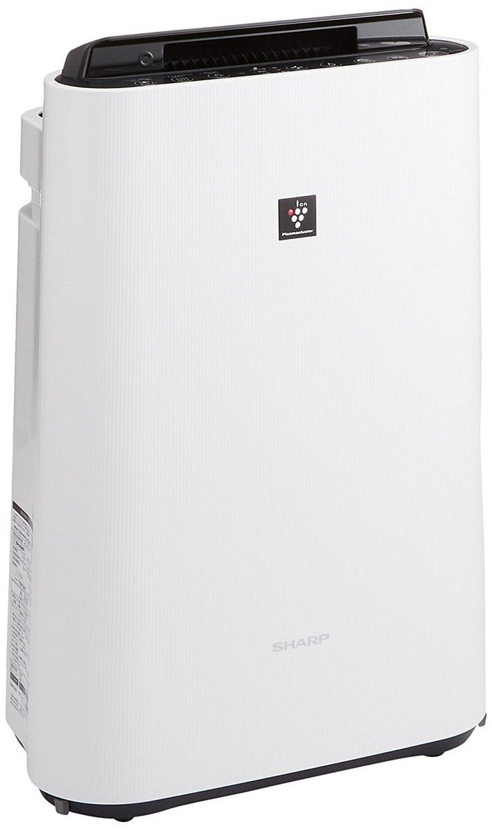 【送料無料 新品】シャープ 加湿空気清浄機 プラズマクラスター ~13畳/空気清浄 ~23畳 ホワイト KC-F50-W