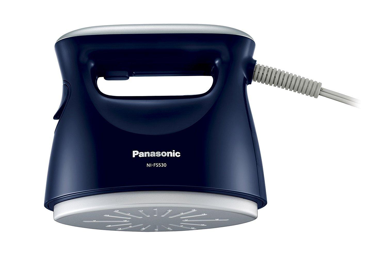 【送料無料 新品】パナソニック 衣類スチーマー ダークブルー NI-FS530-DA