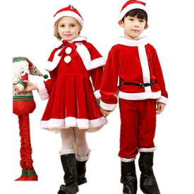 bd75a145e1170 子供 ベビー サンタクロース クリスマス コスチューム 仮装サンタ 衣装 女の子 男の子 ネコ耳サンタコスプレ