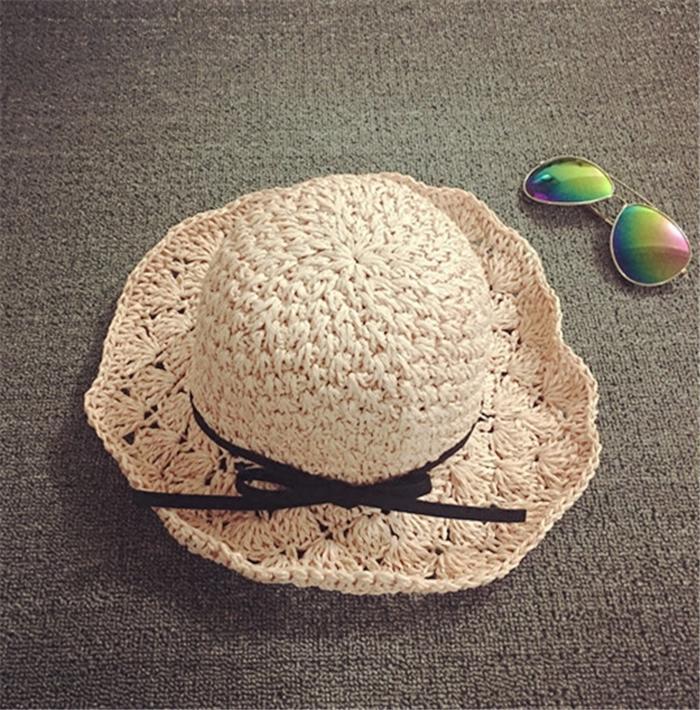 麦わら帽子 キッズ ストローハット 子供用 女の子 ガール 麦わらハット   帽子 夏 ハット UVカット UV帽子  UV ハット 日焼け止め UV対策 紫外線カット 紫外線対策 全4色 メール便可