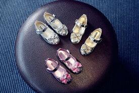 フォーマルシューズ キッズ ローファー  フォーマル靴 子供 靴 子供シューズ 革靴  女の子 ジュニア 結婚式 卒園式 通学 七五三 冠婚葬祭 全3色 リボン付き