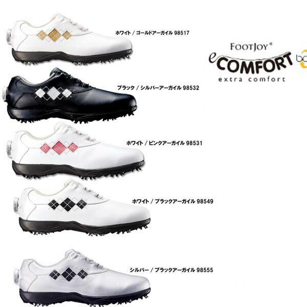 【2016年新色追加】【レディース】Foot Joy/フットジョイ eコンフォートボア/eComfort Boa#98531/#98549/#98532/#98517/#98555ウィメンズ ゴルフシューズ Ladies【日本正規モデル】【送料無料】