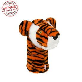 【即納】DAPHNE'S/ダフィニーズ ドライバー用 ヘッドカバーTiger/タイガー柄 HC DRIVER/DR タイガーウッズ愛用