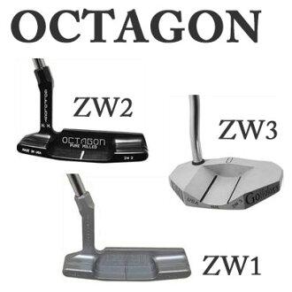 GOLFOLOGY okutagompata ZW1/ZW2/ZW3八角形握柄OCTAGON PT kompyutamirudo做法