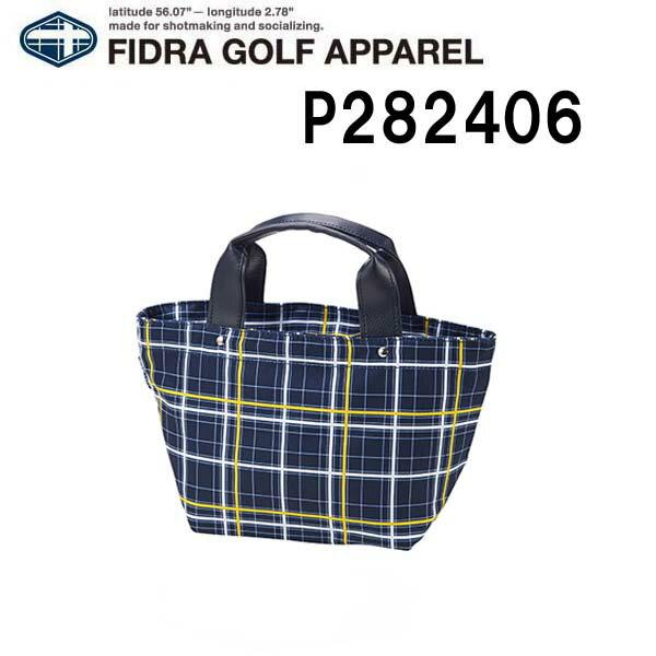 FIDRA/フィドラチェック カートバッグ P282406ネイビー