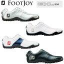 【2018年モデル】Foot Joy/フットジョイ FJ EXL Spikeless Boa #45180 #45181 #45182 #45184 イーエック...