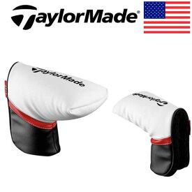 【USモデル】テーラーメイドパター用 ヘッドカバー パターカバーBlack/Red/White HC Putter/PT