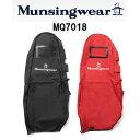【2016年モデル】Munsingwear /マンシングウェア MQ7018 トラベルカバーブラック/レッド