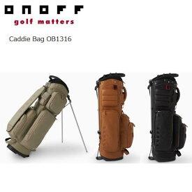【2016年モデル】ONOFF/オノフ OB1316 スタンドキャディバッグ 9型 グローブライド/Globeride Stand Caddie Bag 【送料無料】