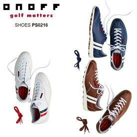 オノフ/ONOFF PS0216 ONOFF×PATRICKコラボレーションコレクション スパイクレスゴルフシューズ 【送料無料】