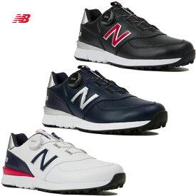 【日本仕様】ニューバランス MGBS574V2 Boa メンズスパイクレスゴルフシューズ ボアフィットシステム ワイズ:D New Balance GOLF SHOES