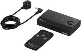 iBUFFALO HDMI切替器 3台用 リモコン付 Nintendo Switch動作確認済 ブラック BSAK302 4950190162834 PlayStation4・Chromecast 対応