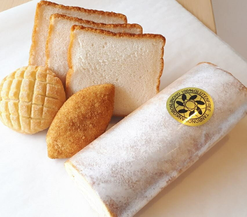 グルテンフリー パン 米粉ロールケーキ プレミアムロールセット