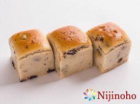 グルテンフリー パン 米粉パン プチオーガニックレーズンパンセット(3個入り)