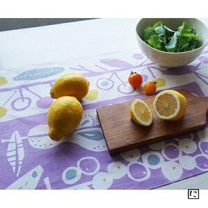 【注染手ぬぐい にじゆら】くだもの パープル ミントブルー てぬぐい 飾る インテリア 贈る ギフト プレゼント つつむ お弁当 りんご ぶどう レモン バナナ ラフランス