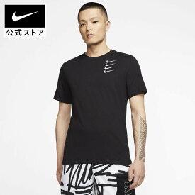 ナイキ Dri-FIT メンズ グラフィック トレーニング Tシャツ / Nike Dri-FIT Men's Graphic Training T-Shirtアパレル メンズ スポーツ トレーニング フィットネス ジム トップス Tシャツ 半袖 半袖Tシャツ