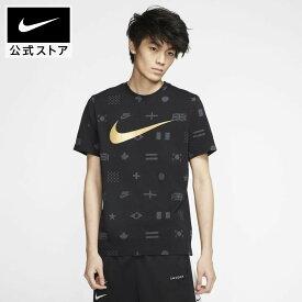 ナイキ スポーツウェア メンズ プリンテッド Tシャツ / Nike Sportswear Men's Printed T-Shirtアパレル メンズ スポーツ カジュアル トップス Tシャツ 半袖 半袖Tシャツ