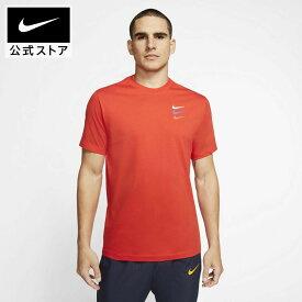 ナイキ F.C. メンズ サッカー TシャツNIKE アパレル メンズ スポーツ サッカー フットボール トップス Tシャツ 半袖 半袖Tシャツ