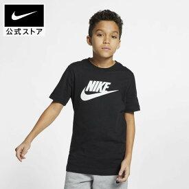 スーパーセール50%OFFナイキ スポーツウェア ジュニア コットン TシャツNIKE アパレル キッズ 子供 子ども 男の子 トレーニング フィットネス トップス Tシャツ 半袖 半袖Tシャツ 半額