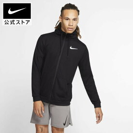 ナイキ Dri-FIT メンズ フルジップ トレーニングパーカー / Nike Dri-FIT Men's Full-Zip Training Hoodieアパレル メンズ スポーツ トレーニング フィットネス ジム トップス パーカー フルジップパーカー