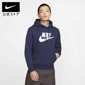 ナイキ スポーツウェア クラブ フリース メンズ グラフィック プルオーバー パーカー / Nike Sportswear Club Fleece Men's Graphic Pullover Hoodieアパレル メンズ スポーツ カジュアル トップス パーカー