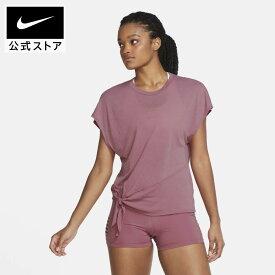 ナイキ Dri-FIT ウィメンズ ショートスリーブ トレーニングトップ / Nike Dri-FIT Women's Short-Sleeve Training Topアパレル レディース スポーツ トレーニング フィットネス ヨガ ピラティス ジム トップス