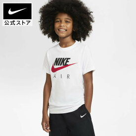 ナイキ エア ジュニア (ボーイズ) TシャツNIKE アパレル キッズ 子供 子ども 男の子 トレーニング フィットネス トップス Tシャツ 半袖 半袖Tシャツ