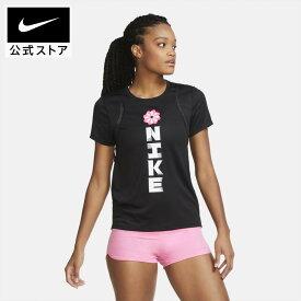 ナイキ ウィメンズ アイコンクラッシュ ラン S/S GXアパレル レディース スポーツ ランニング ジョギング トップス Tシャツ 半袖 半袖Tシャツ