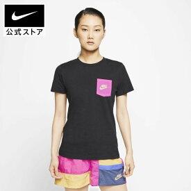 ナイキ スポーツウェア アイコン クラッシュ ウィメンズ Tシャツアパレル レディース スポーツ カジュアル トップス Tシャツ 半袖 半袖Tシャツ