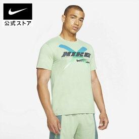 ナイキ Dri-FIT メンズ グラフィック トレーニング Tシャツアパレル メンズ スポーツ トレーニング フィットネス ジム トップス Tシャツ 半袖 半袖Tシャツ
