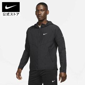 【ポイント20倍】ナイキ レペル マイラー メンズ ランニングジャケットアパレル メンズ スポーツ ランニング ジョギング ジャケット アウター フード付き