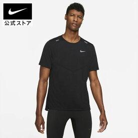 【9月新着アイテム】ナイキ Dri-FIT ライズ 365 メンズ ショートスリーブ ランニングトップアパレル メンズ スポーツ ランニング ジョギング トップス Tシャツ 半袖 半袖Tシャツ