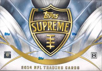 NFL 2014 TOPPS SUPREME FOOTBALL(送料無料)