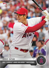 2021 TOPPS NOW #496 大谷翔平 2021 T-MOBILE HOME RUN DERBY PARTICIPANT