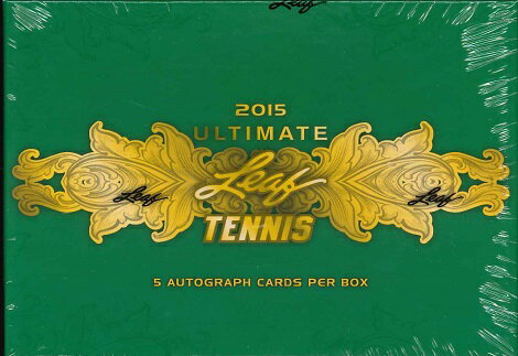 2015 LEAF ULTIMATE TENNIS HOBBY BOX