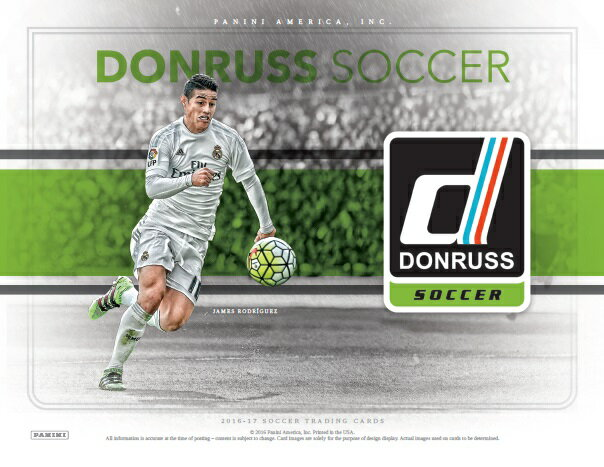 2016/2017 DONRUSS SOCCER BOX(送料無料)