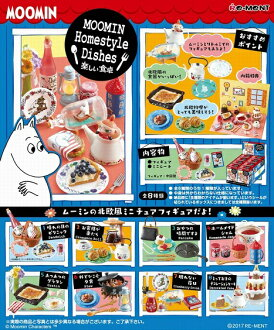 含rimentomumin Moomin Homestyle Dishes快乐的餐桌[8个的]BOX